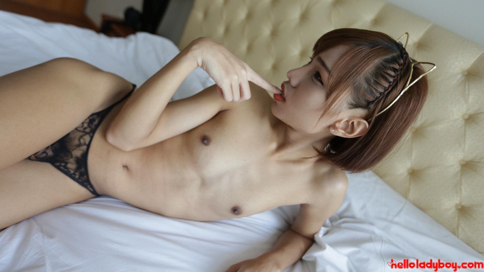 Shemale Thai Suck Penis Orgy